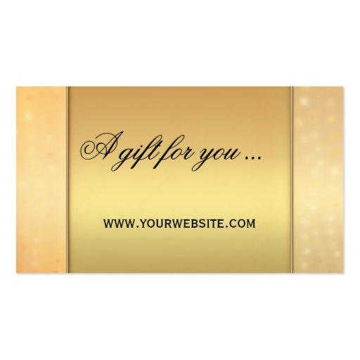 Elegant Gift Certificate Template 5