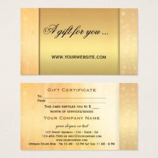 Elegant Gift Certificate Template 7