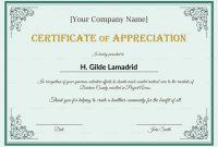 Employee Anniversary Certificate Template 5