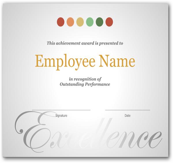 Employee Anniversary Certificate Template 6