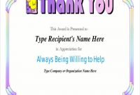 Employee Anniversary Certificate Template 7