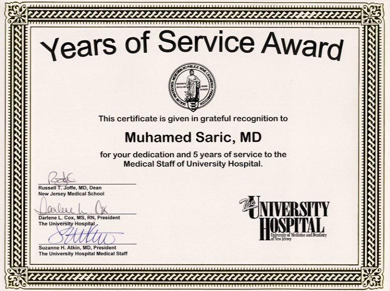 Employee Certificate Of Service Template 0