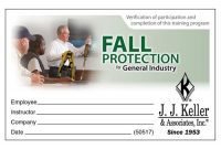Fall Protection Certification Template 2