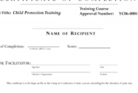 Fall Protection Certification Template 4