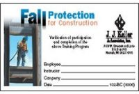 Fall Protection Certification Template 5