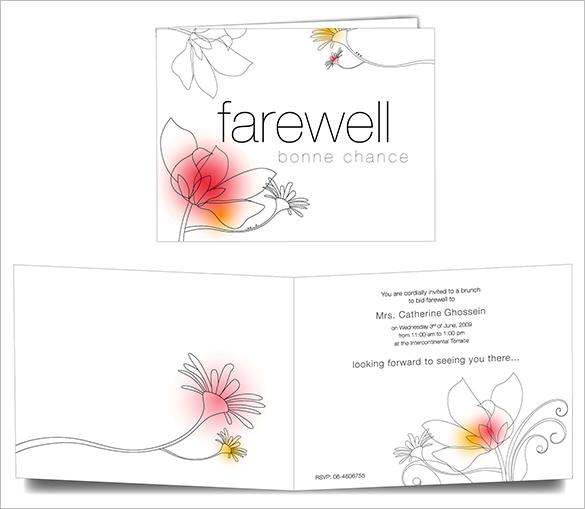 Farewell Certificate Template 5