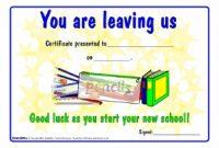 Farewell Certificate Template 9