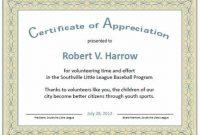 Felicitation Certificate Template 7