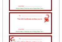 Fillable Gift Certificate Template Free 8