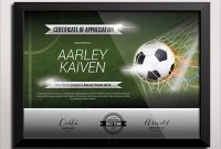 Football Certificate Template 7