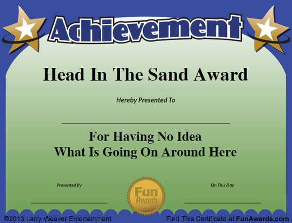 Free Funny Certificate Templates For Word 7