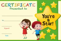 Free Printable Certificate Templates for Kids 2