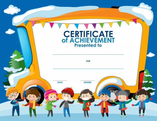 Free Printable Certificate Templates For Kids 5