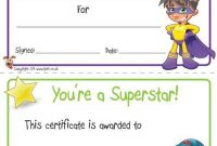 Free Printable Certificate Templates for Kids 6
