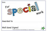 Free Printable Certificate Templates for Kids 8