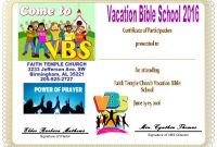Free Vbs Certificate Templates 8