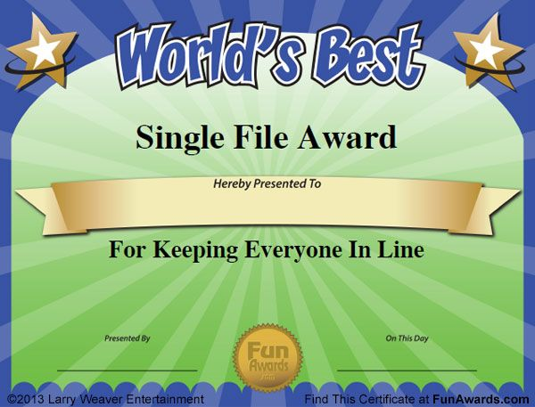 Funny Certificates For Employees Templates 6