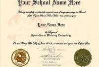 Ged Certificate Template 10