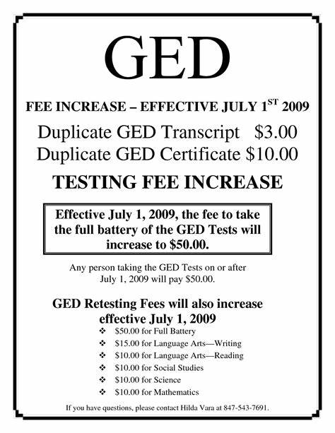 Ged Certificate Template 5