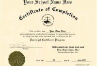 Ged Certificate Template 8