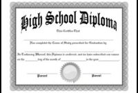 Ged Certificate Template 9