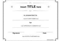 Generic Certificate Template 3