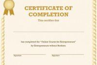 Generic Certificate Template 4