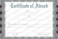 Generic Certificate Template 5