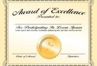Generic Certificate Template 6