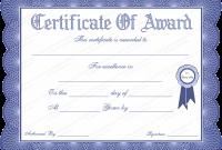 Generic Certificate Template 8
