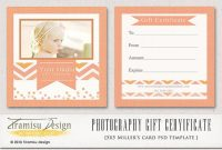 Gift Certificate Template Photoshop 9