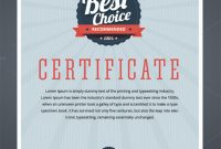 Guinness World Record Certificate Template 9