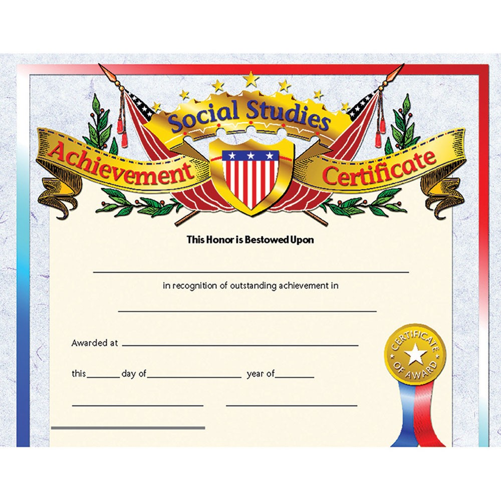 Hayes Certificate Templates 4