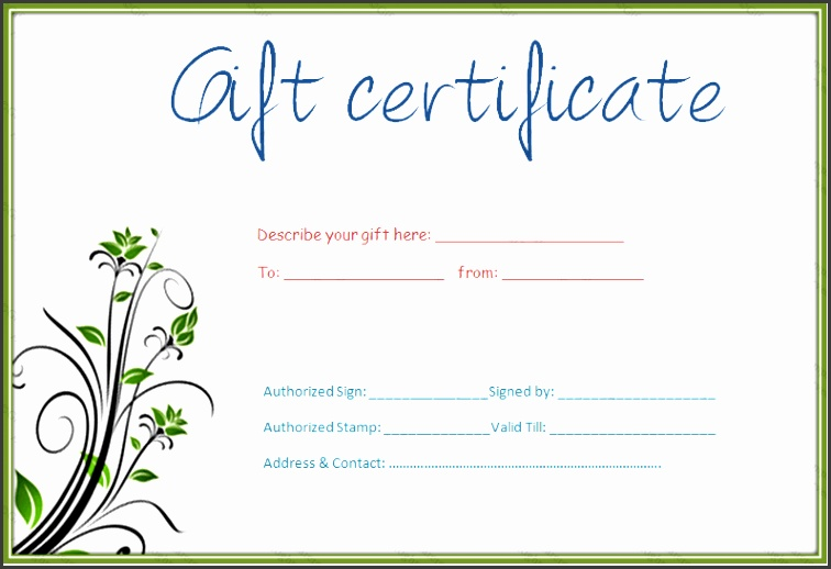 Free Printable Gift Voucher Template 3ydmD Elegant Pages Gift Certificate Template