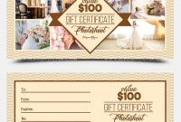 Photoshoot Gift Certificate Template 4