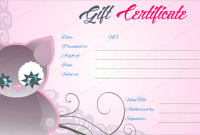 Pink Gift Certificate Template 9