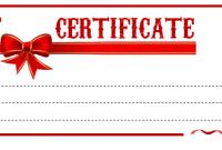 Present Certificate Templates 0