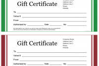 Present Certificate Templates 5