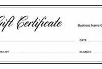 Present Certificate Templates 7
