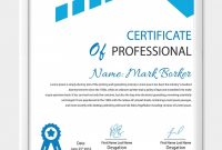 Professional Award Certificate Template 5