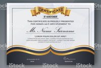 Professional Award Certificate Template 6
