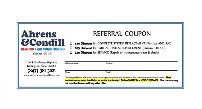 Referral Certificate Template 4
