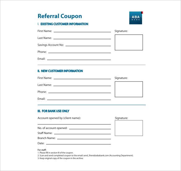 Referral Certificate Template 5