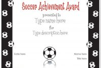 Soccer Certificate Template Free 7