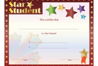 Star Certificate Templates Free 8
