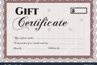 This Certificate Entitles the Bearer Template 2