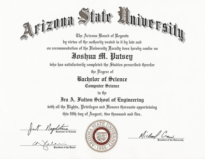 University Graduation Certificate Template 8