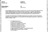 Validation Certificate Template 3