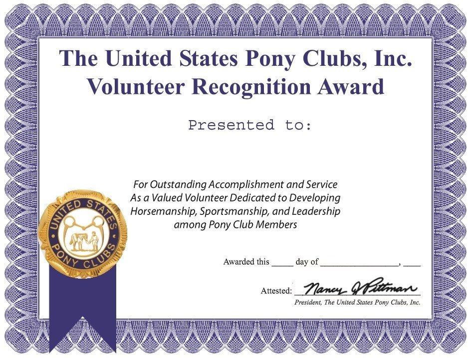 Volunteer Certificate Template 9