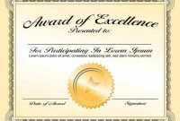 Award Certificate Template For Powerpoint